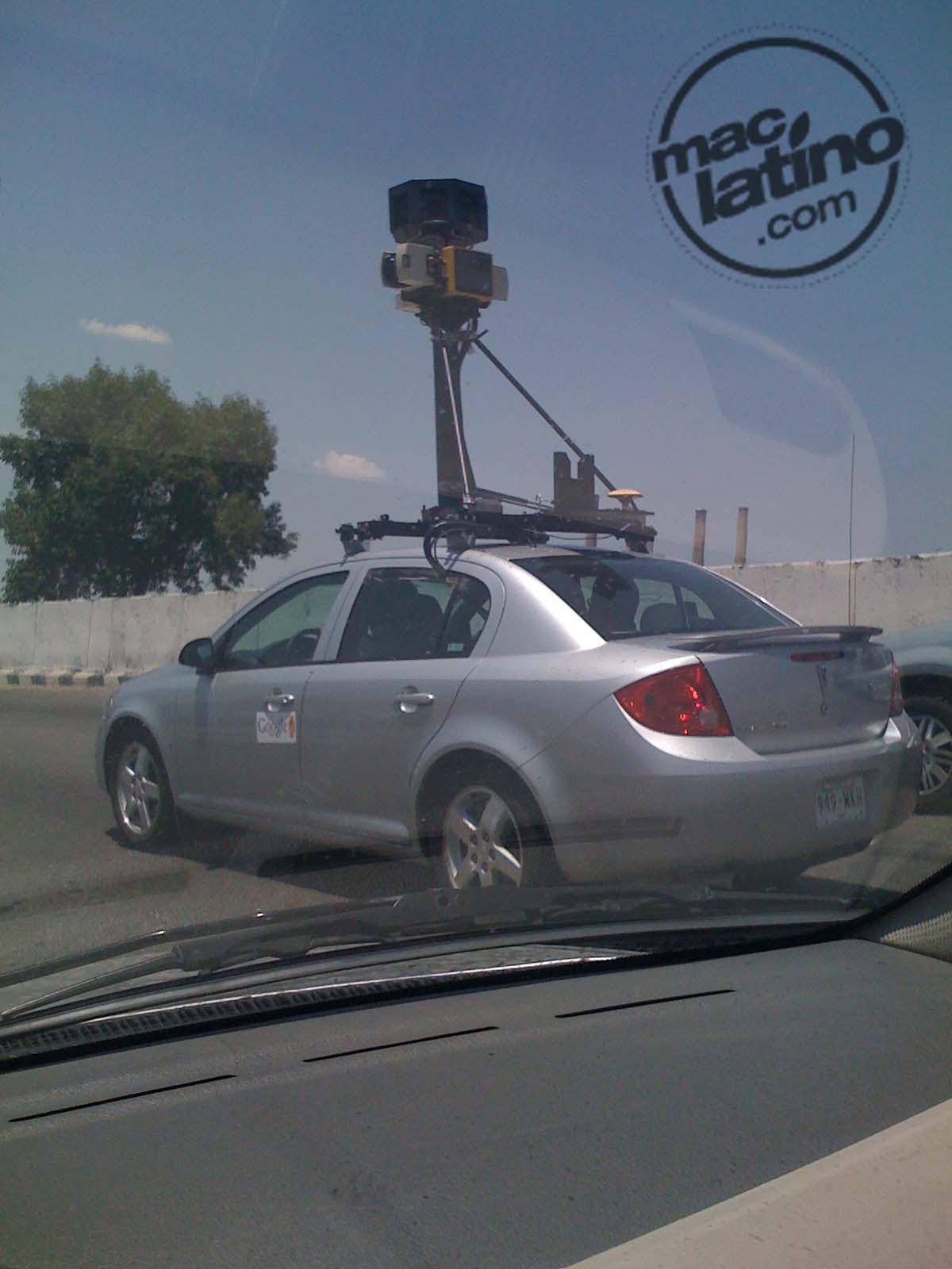 Google Car visto en México 1