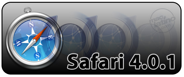 Descarga Safari 4.0.1 para Mac OS X 1