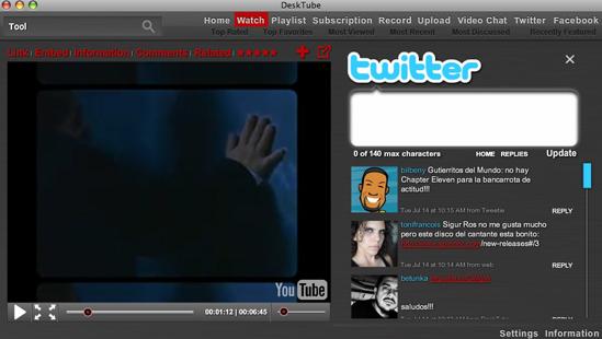 Presidente Obama envía un tweet desde su MacBook Pro en compañía del Co-fundador de la red social 4