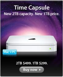 Apple actualiza la capacidad de Time Capsule, ahora a 2TB 1
