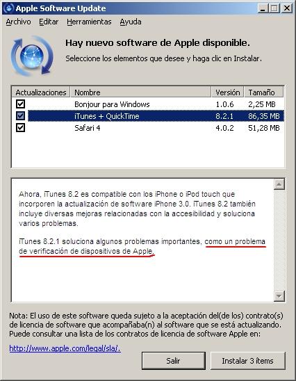 Palm contraataca y vuelve a incluir la sincronización con iTunes