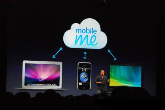 Nuevo servicio de internet MobileMe de Apple 6