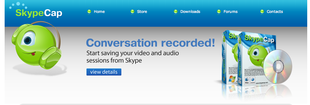 Captura Audio y Video de Skype con SkypeCAP 1