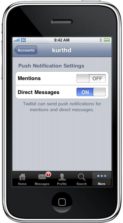 App Review: TwitBit, con notificaciones PUSH al fin!!!