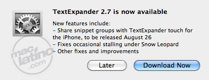 Textexpander 2.5 2