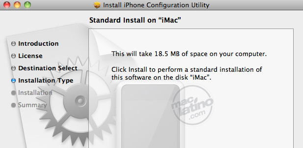 iPhone Configuration Web Utility 1.0 para Mac y para Windows 1