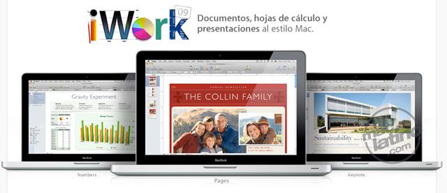 iWork se actualiza a la versión 1.2 en el iPad 4
