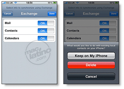 Push mail en el iPhone y iPod touch con Gmail 1
