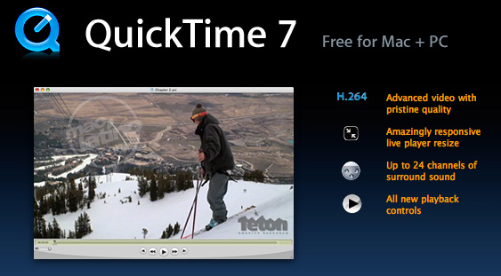 Descarga QuickTime 7.6.4 para Mac OS X Leopard, Tiger y Windows 1