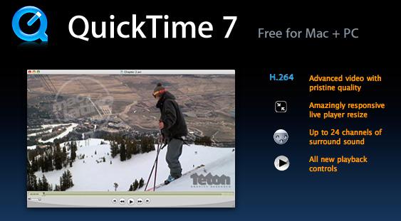Descarga QuickTime 7.6.4 para Mac OS X Leopard, Tiger y Windows 8