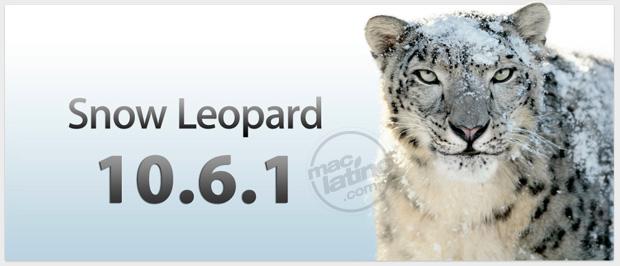Descarga Mac OS X 10.6.1 Snow Leopard 1