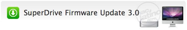 El iMac SuperDrive Firmware Update ofrece compatibilidad con 4x DVD-R y 2x DVD-RW 1
