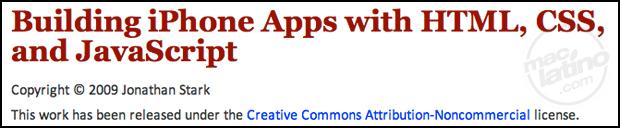 Crea aplicaciones para iPhone con HTML y Javascript con NimbleKit 3