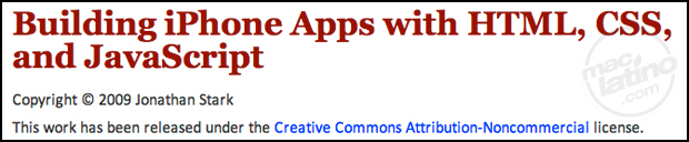 HTML 5 llega al iPhone 1