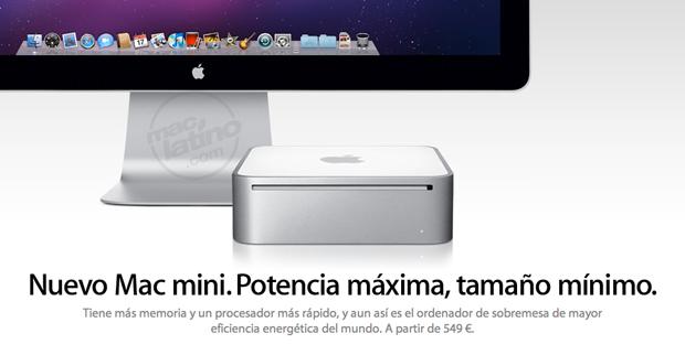 Apple presenta el nuevo Mac mini con procesador Intel 5