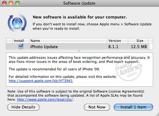 Compatibilidad RAW 3.0 para cámaras digitales en Mac OS X 6