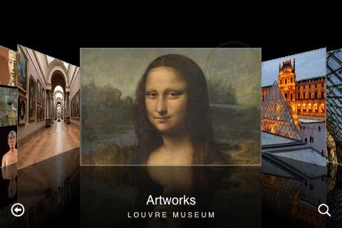 Musée du Louvre app para iPhone y iPod touch 1