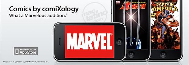 Comics de Marvel en el iPhone y iPod touch 5