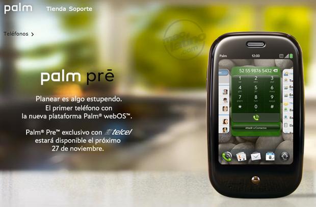 Lanzamientos de Palm Pre contra el iPhone 2