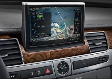 Audi con Google Earth y red 3G 3