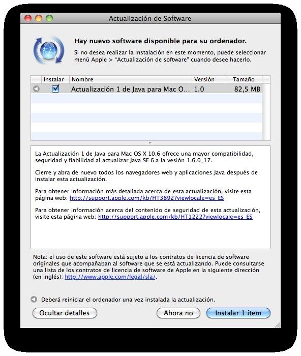Publican App. Blacklist para Snow Leopard... 2