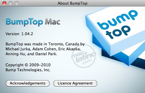 Descarga BumpTop 1.04.2 y utiliza tu escritorio en 3D 1