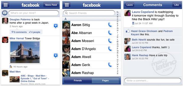 Facebook ya es compatible con 3D Touch 2