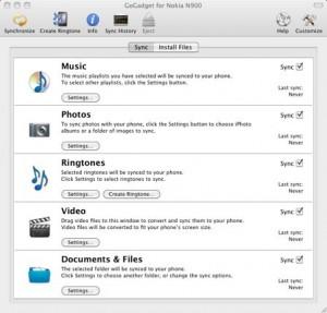 GoGadget: Sincroniza tu Nokia N900 y tu Mac 2