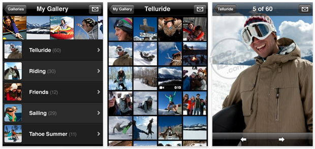 MobileMe Gallery 1.0.1 para iPhone y iPod touch 10
