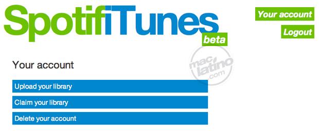 Descarga Spotify para iPad, versión 0.5.1 4