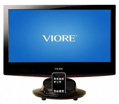Tv con soporte para  iPhone & iPod 1