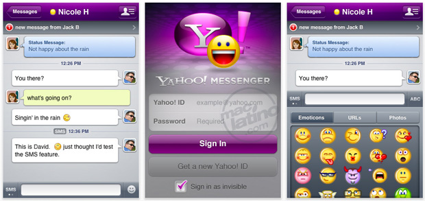 Yahoo! Messenger, ahora con videochat en iPod Touch 4G 11