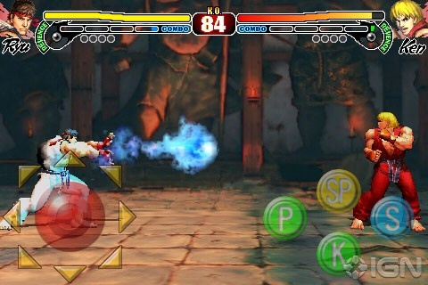 Cammy y Zangief llegan a Street Fighter para iPhone/iPod Touch 7