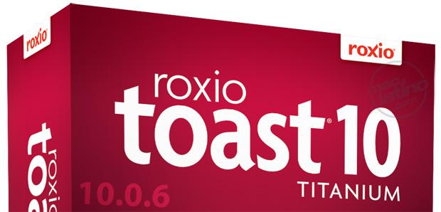 Ya puedes bajar Roxio Toast Titanium 5.1.3 1