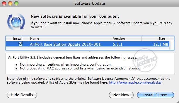 Apple actualiza la capacidad de Time Capsule, ahora a 2TB 5
