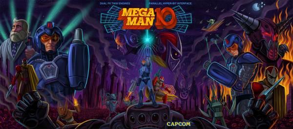 Wii Ware : Megan Man 10 2