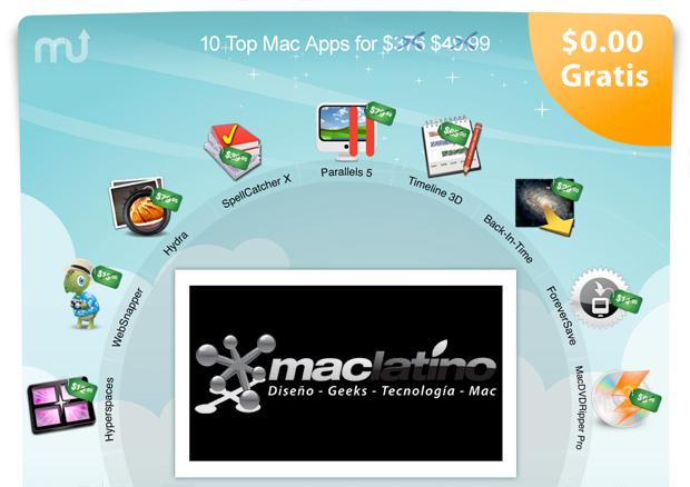 Sorteo de 10 aplicaciones para Mac OS X 1