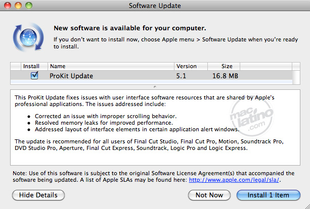 Final Cut Pro 10.1.4 con soporte para archivos MXF 1