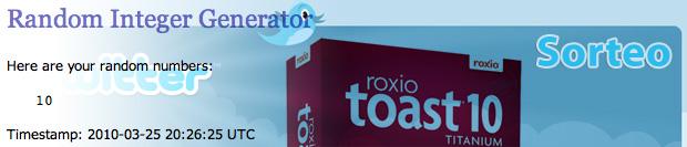 Sorteo Toast 10 Titanium Gratis para fans en Facebook 2