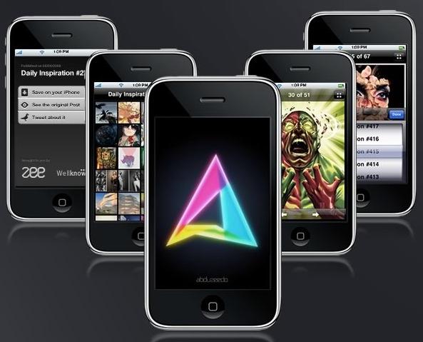 Abduzeedo: una App infaltable para iPhone/iPod Touch 2