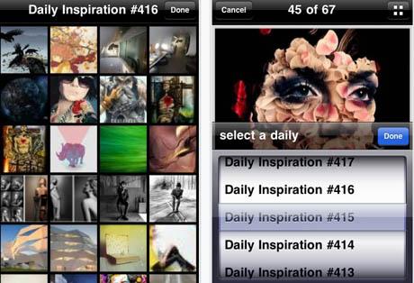 Abduzeedo: una App infaltable para iPhone/iPod Touch 1