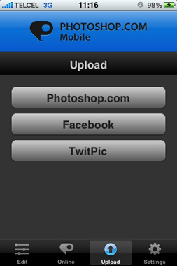Acquire toma fotografías desde iOS directo en Photoshop CS5 3