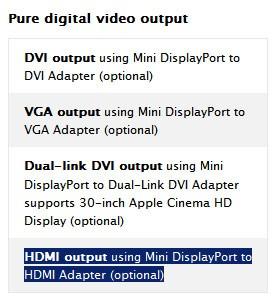 HDMI out para nuevos Macbooks Pro!! 1