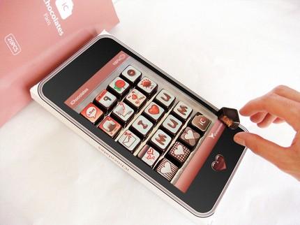 Boda usando el iPad 8