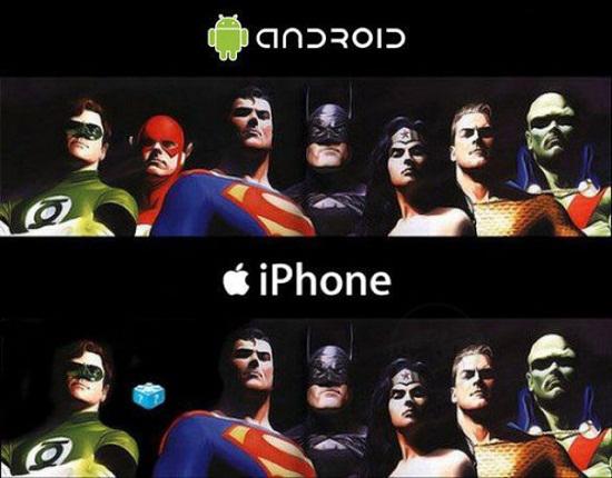 Usuarios que tienen un Smartphone Android, quieren un iPad y no una Tablet Android 4