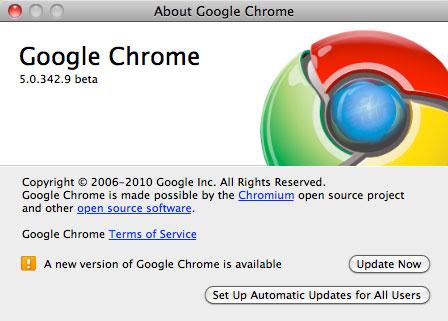 Google Chrome 5.0.375.29 beta es un 30% más rápido 1
