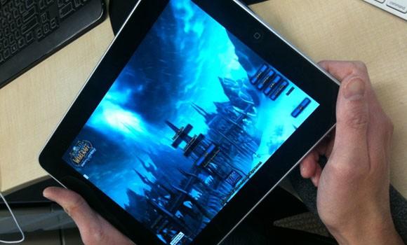 WOW en un iPad : Streaming bajo Gaikai 2