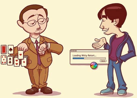 Comerciales de Apple Get a Mac en dibujos animados 1