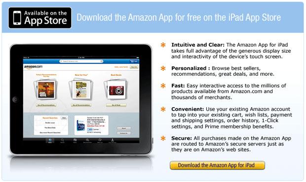 Amazon.com para iPad 1