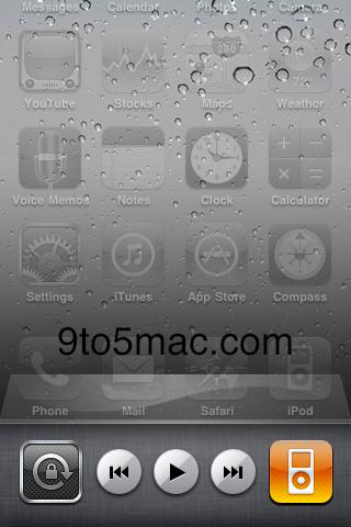 Bloqueo de orientación en iPhone OS 4 beta 3 1